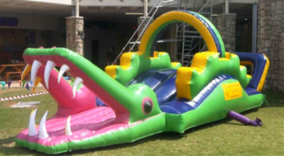 Inflatable Croc Jumping castle